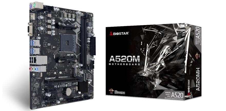 Biostar A520MH V6.1/B550MH V6.1 Motherboards