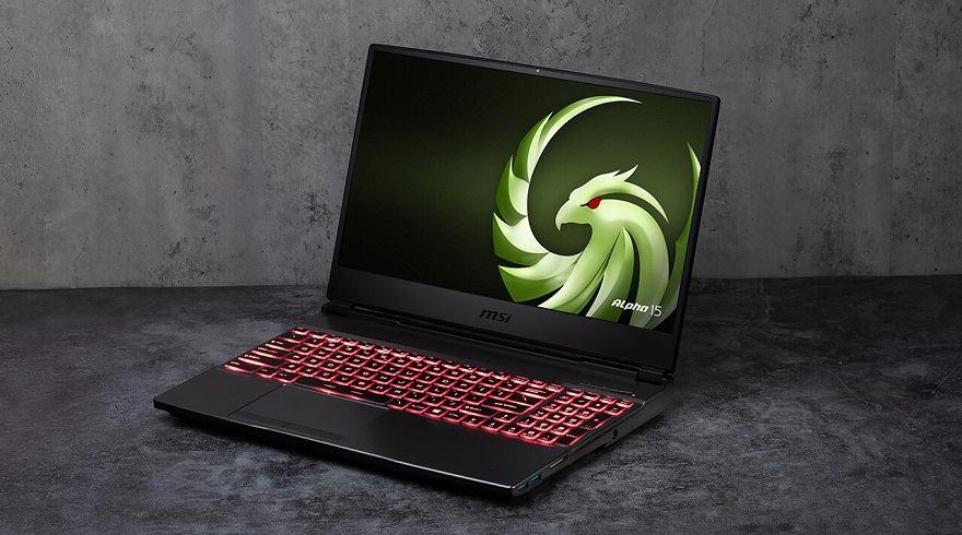 MSI Alpha 15 & 17 Laptops