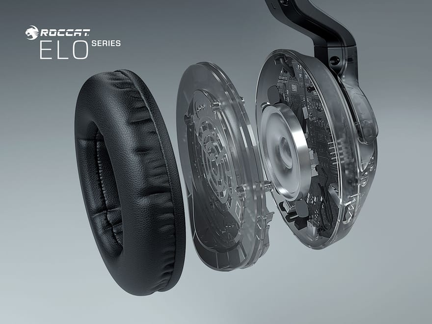 Roccat Reveals New Elo PC Gaming Headsets