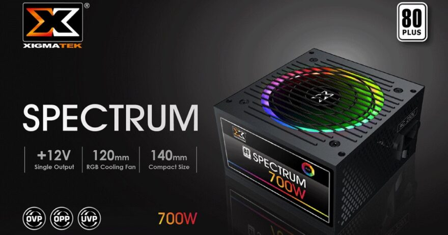 XIGMATEK Spectrum PSUs