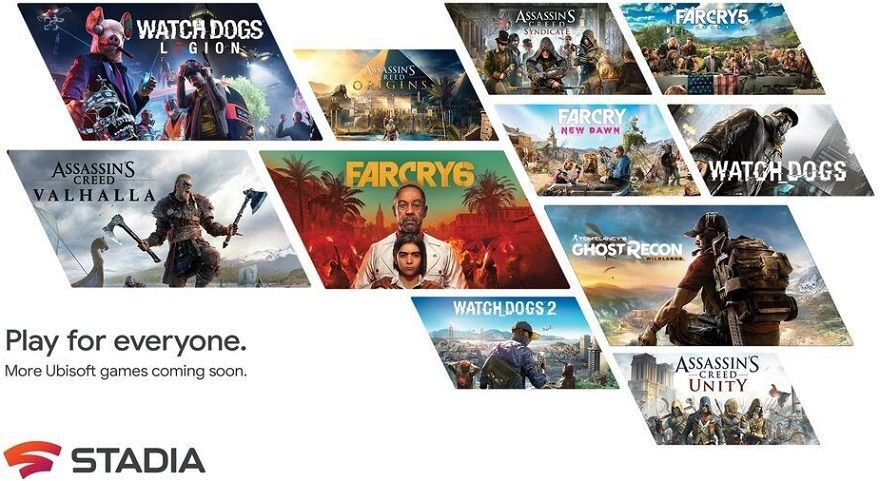 Ubisoft Google Stadia
