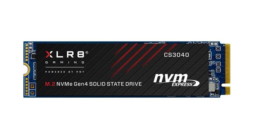 PNY XLR8 CS3040 M.2 NVMe Gen4 x4 SSDs