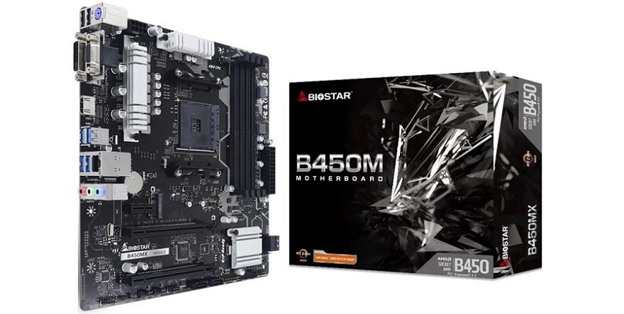 Biostar B450MX Motherboard