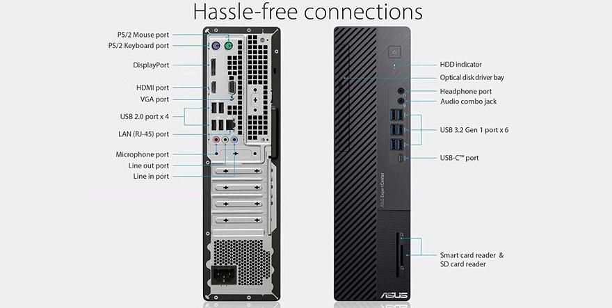 ASUS ExpertCenter D700SA SFF Desktop