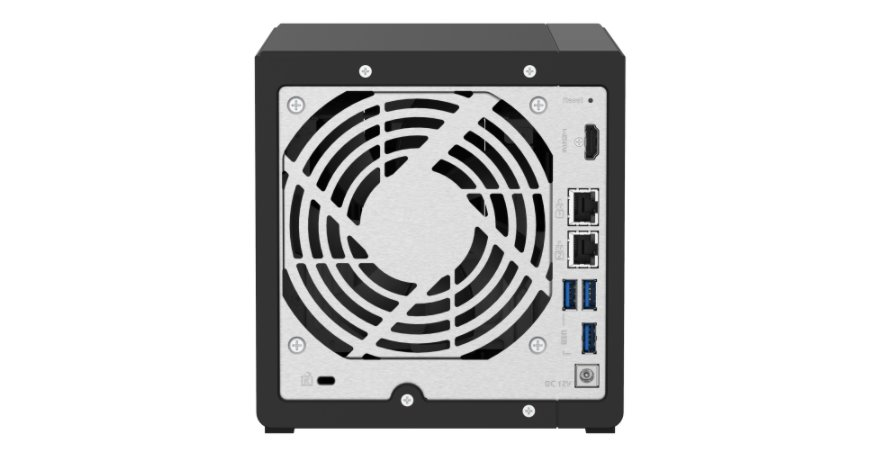 QNAP 4-bay TS-451D2 Intel J4025 Dual-core NAS