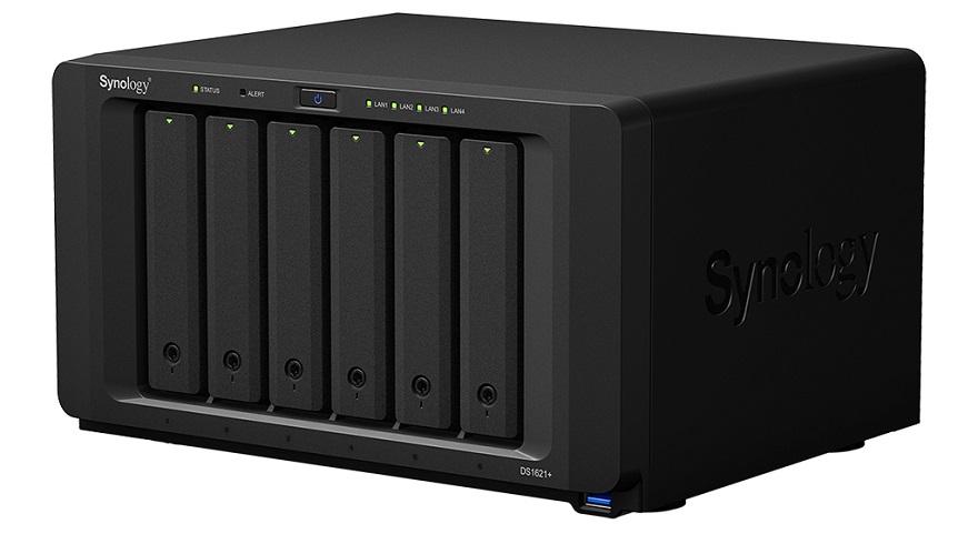 Synology 6-Bay AMD Ryzen DS1621+ NAS