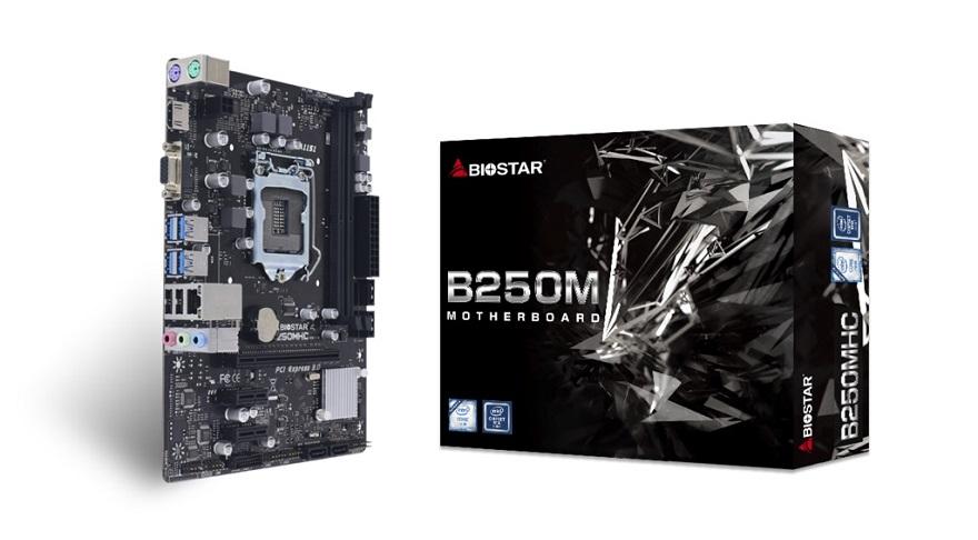 Biostar B250MHC Motherboard