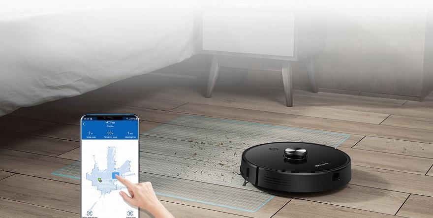 Proscenic M7 Pro Robot Vacuum cleaner