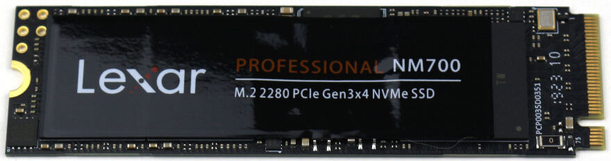 Lexar NM700 1TB Photo view 1 top