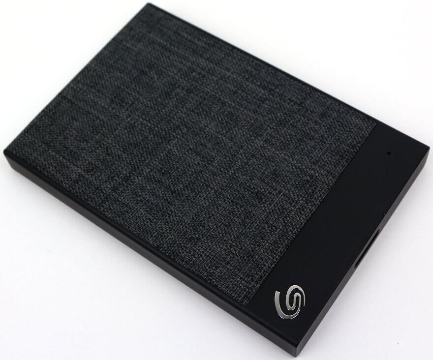 Seagate Backup Plus Ultra Touch 1TB Photo view top angle 2