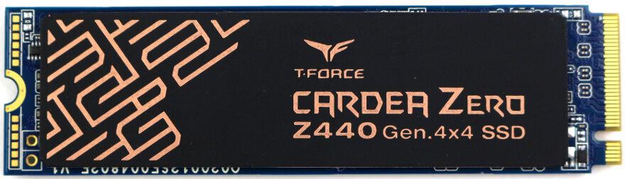 TeamGroup CARDIA Zero Z440 1TB Photo view top