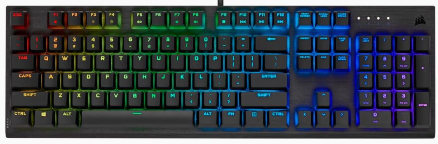 Corsair K60 RGB Pro Viola Switch Keyboard Review