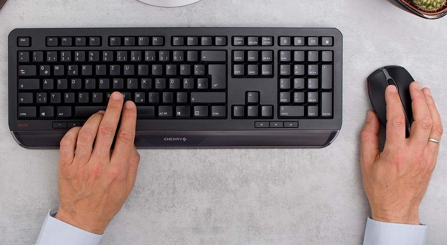 Cherry Gentix Desktop Wireless Keyboard+Mouse Set
