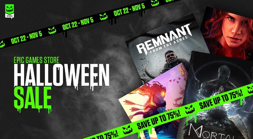 Epic Games Store Halloween Sale