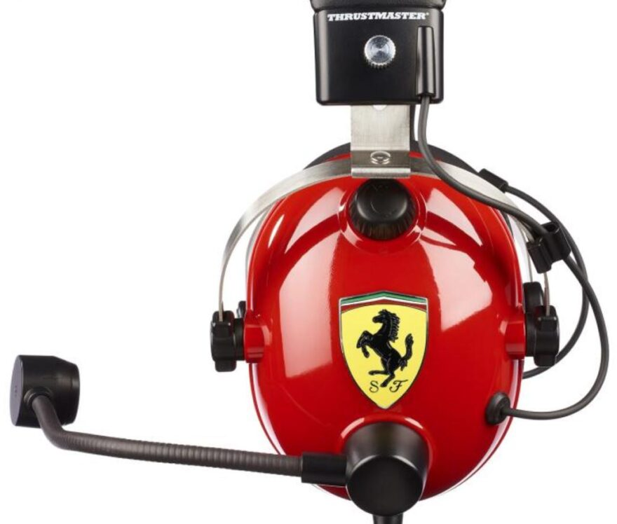 Thrustmaster T.Racing Scuderia Ferrari Edition-DTS Gaming Headset Review