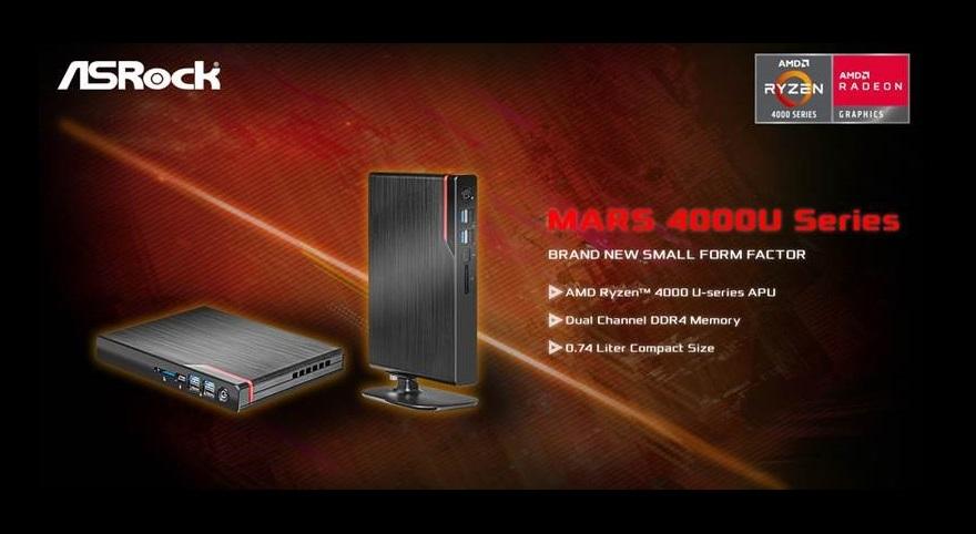 ASRock Mars 4000U Series