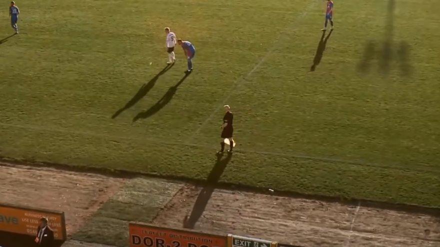 AI camera football funny