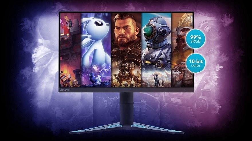 "Lenovo 27"" IPS Gaming Monitors"