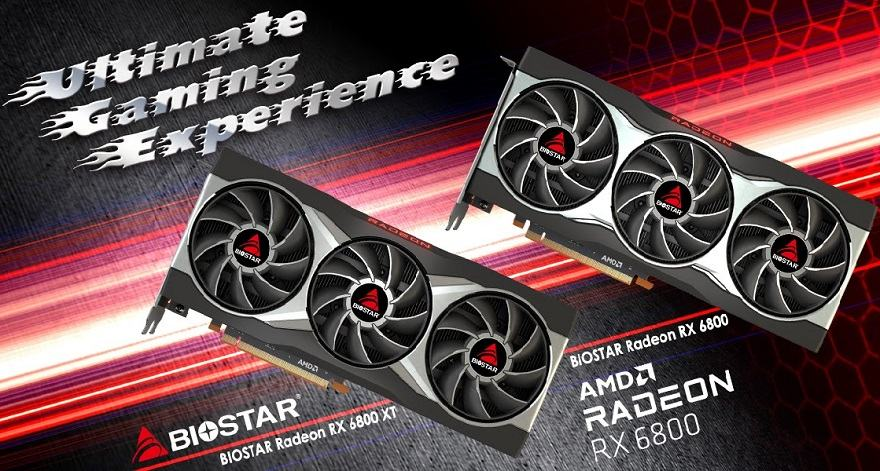 Biostar Radeon RX 6800 Series