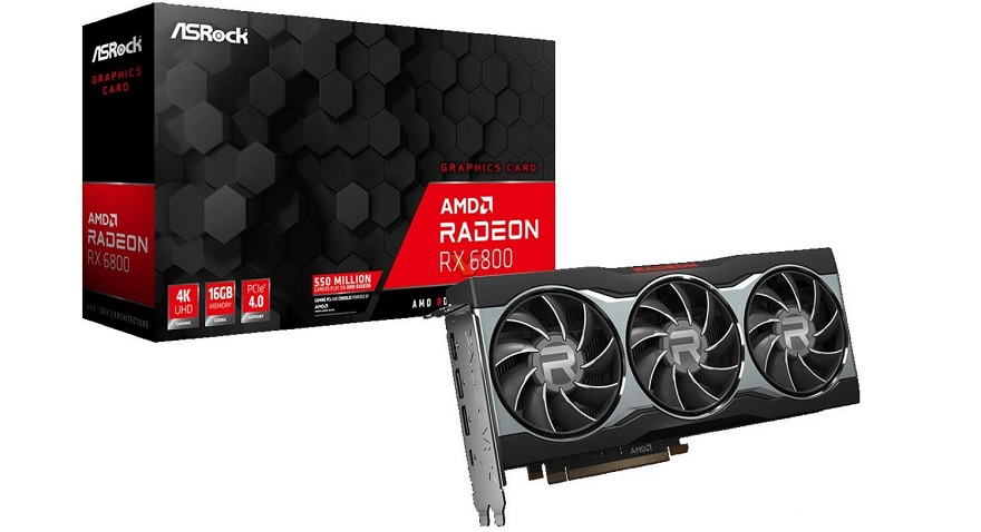 Asrock AMD Radeon RX 6800 XT and 6800 XT