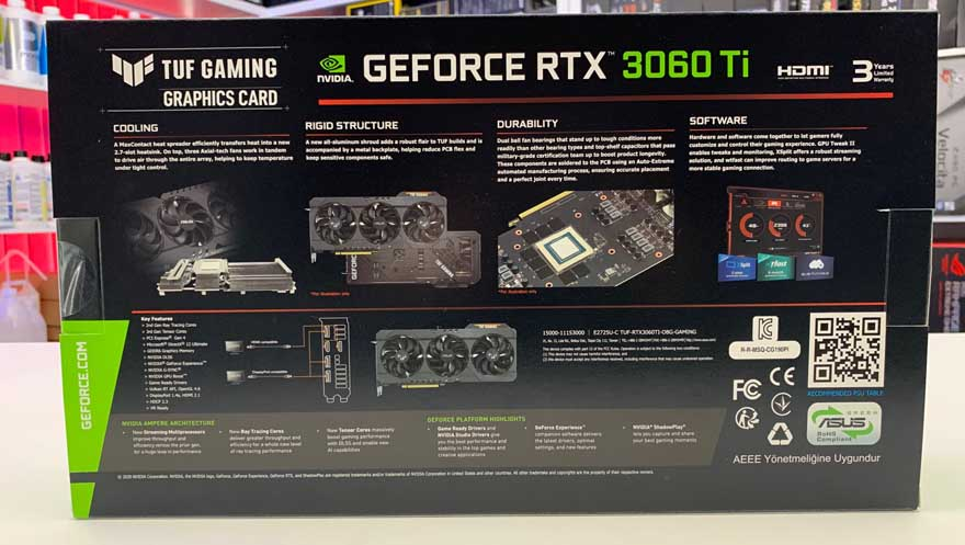 ASUS RTX 3060 Ti TUF Gaming Graphics Card Review