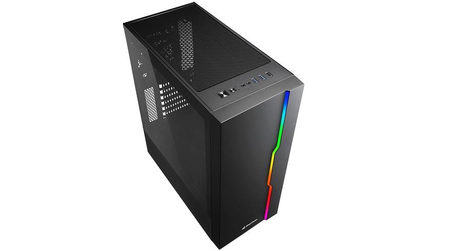 RGB Slider Midi-ATX Case