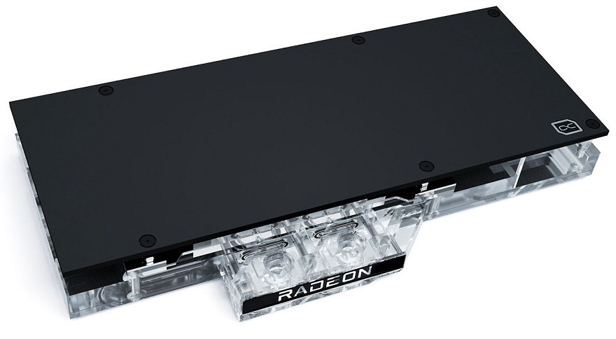 AlphaCool Eisblock Aurora Acryl GPX-A for Radeon RX 6800 XT and RX 6800
