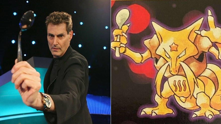 Uri Geller Allows Nintendo to Use Kadabra Pokémon Again