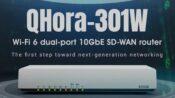 QNAP QHora-301W Router