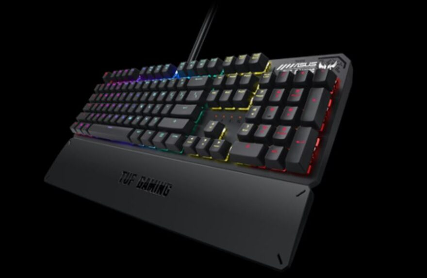 ASUS TUF Gaming K3 Keyboard Review