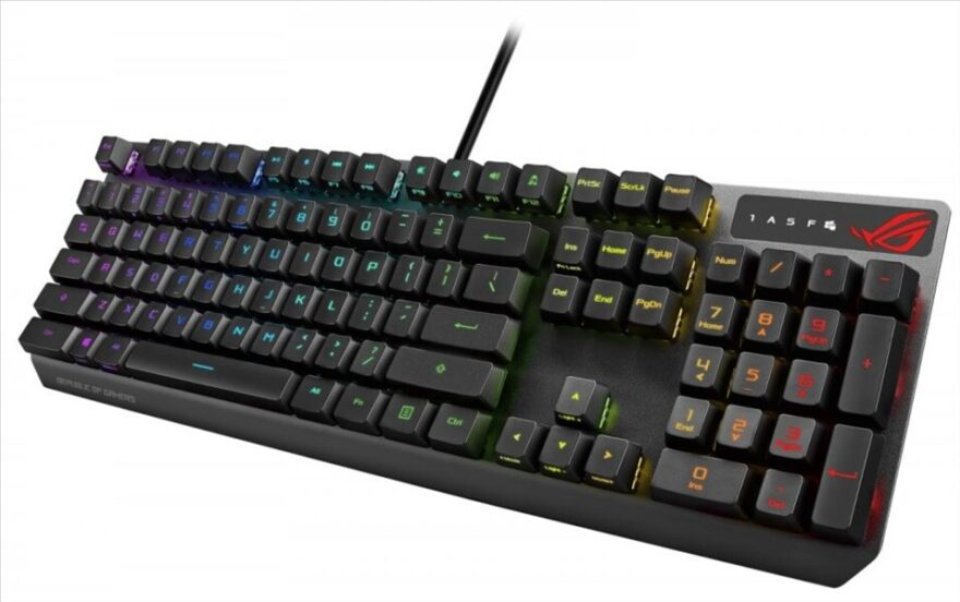 ASUS ROG Strix Scope RX Keyboard Announced