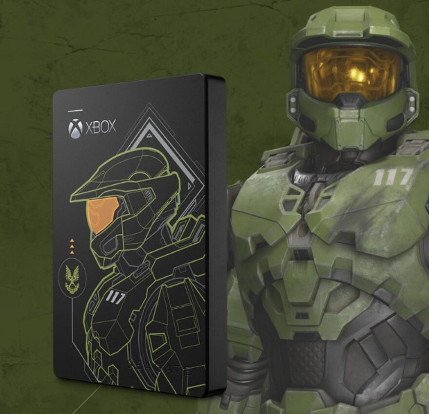Seagate Game Drive 5TB Halo Master Chief Limited Edition Review