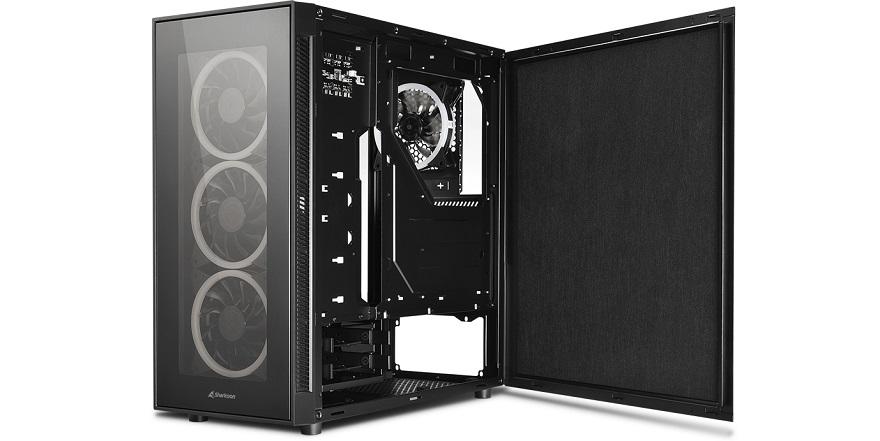 Sharkoon TG5 RGB Silent PCGH Edition Case