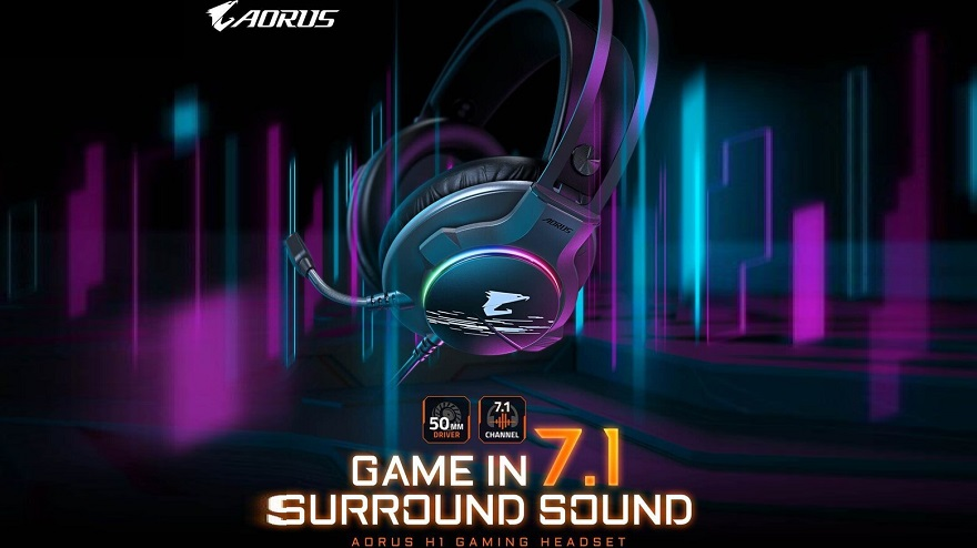 Gigabyte AORUS H1 Gaming Headset