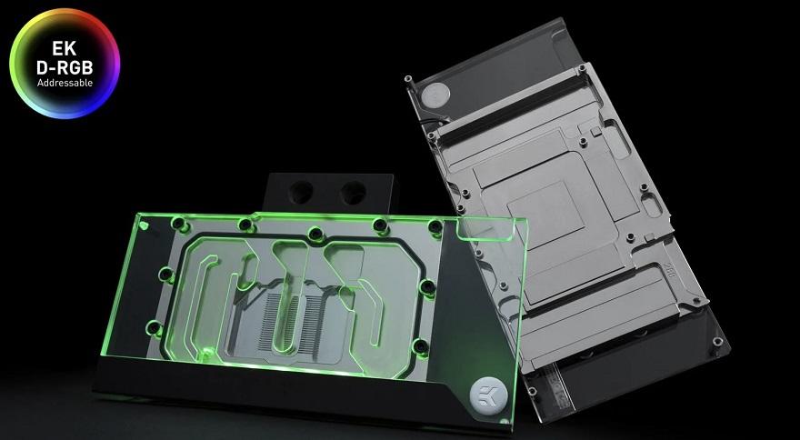 EKWB Classic Blocks for Reference 3090/3080 GPUs
