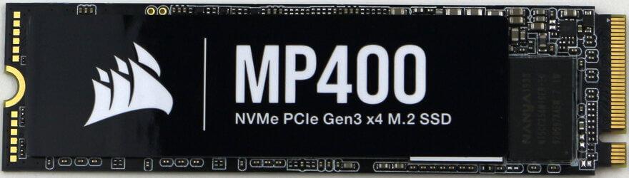Corsair MP400 2TB Photo view top