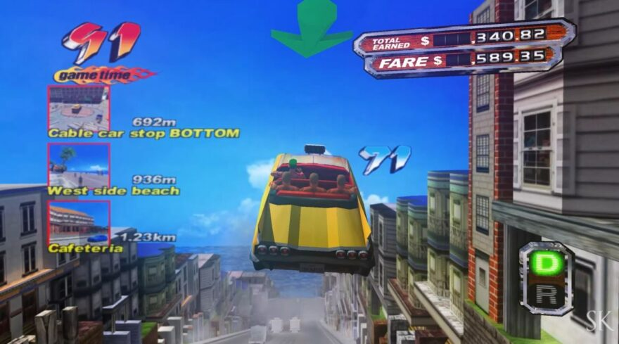Crazy Taxi 3 Mod Gives the Classic a Next-Gen Overhaul