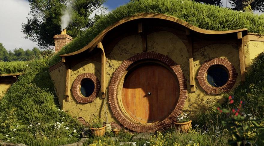 Lotd of the Rings 3D unreal engine 4