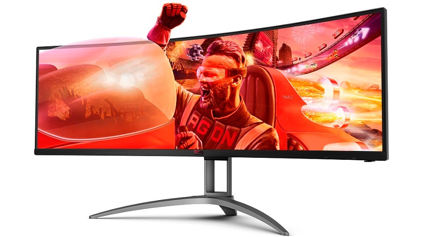 AOC 32:9 super-wide AGON gaming monitor: AG493UCX