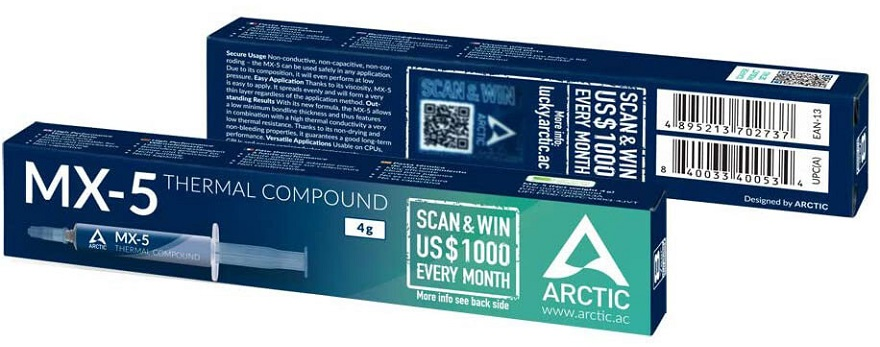 Arctic MX-5 thermal compound