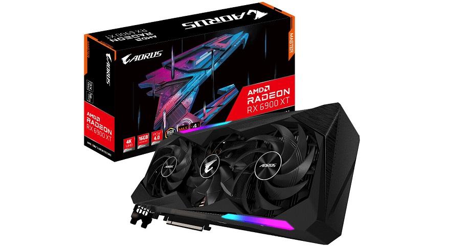 Gigabyte Unveils its Radeon RX 6900 XT AORUS MASTER GPU