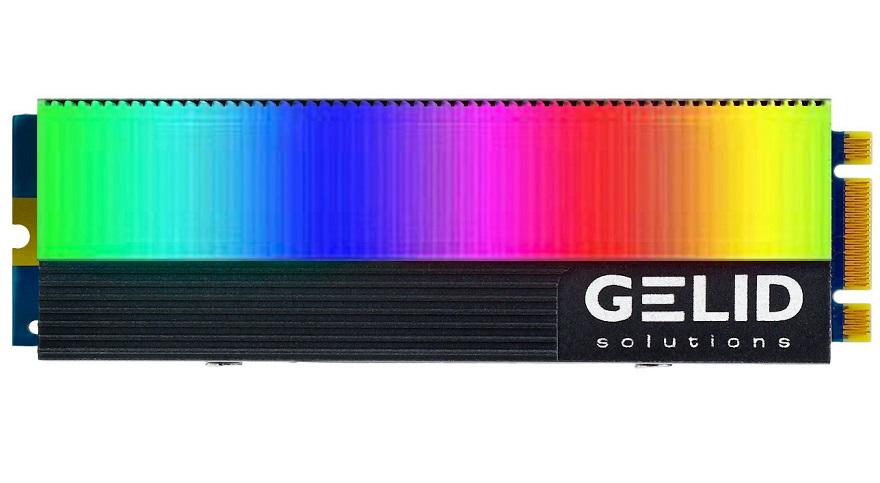 Gelid Glint ARGB M.2 SSD Cooler