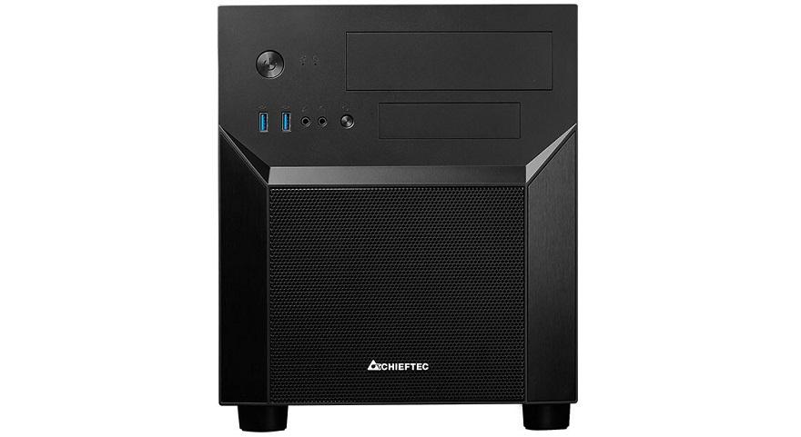 Chieftec CI-02B-OP M-ATX Cube PC Case