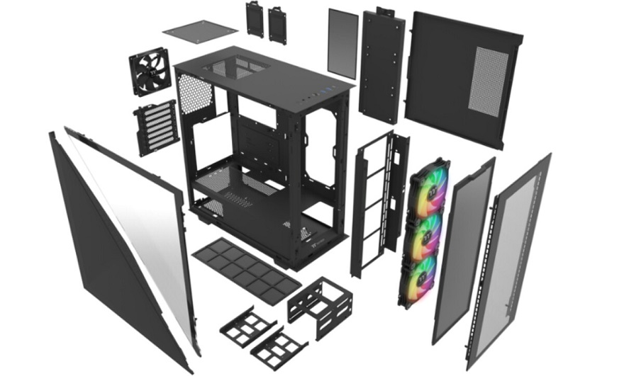 Thermaltake DIVIDER 300TG Mid-Tower Chassis