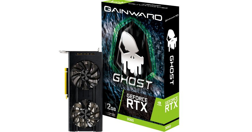 Gainward GeForce RTX 3060 GHOST and Pegasus Graphics Cards