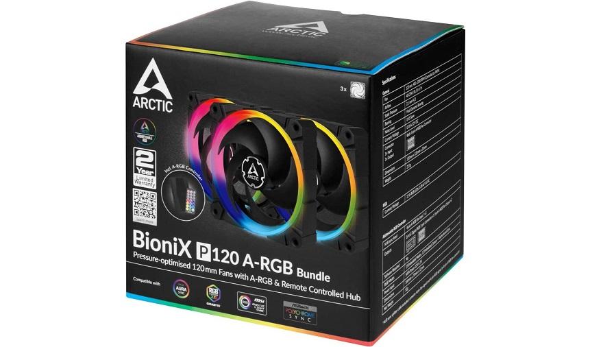 Arctic BioniX P-series Fans