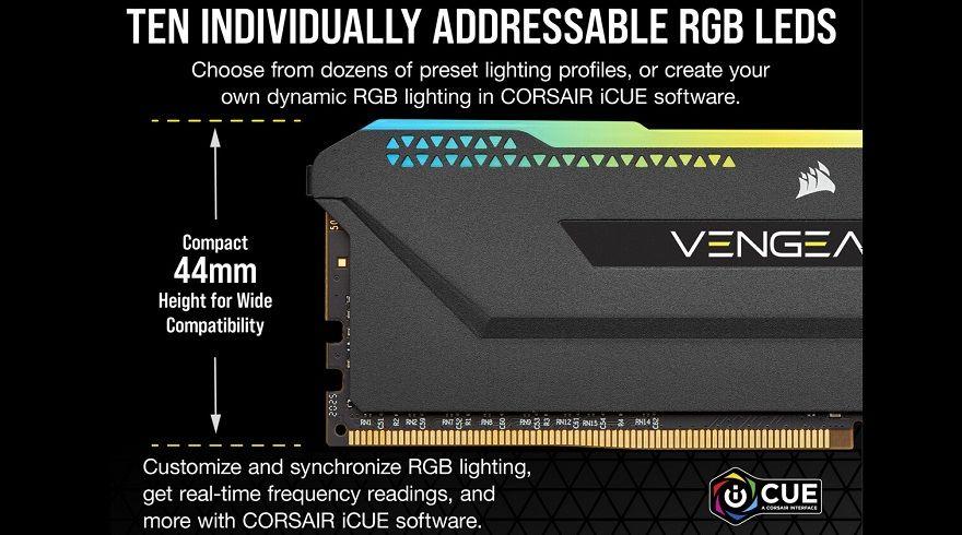 Corsair VENGEANCE RGB PRO SL Memory