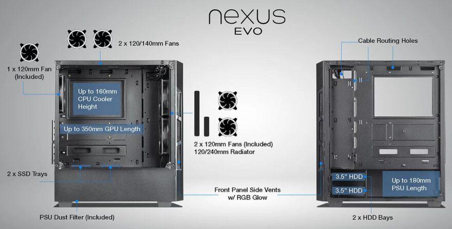 tecware nexus evo features