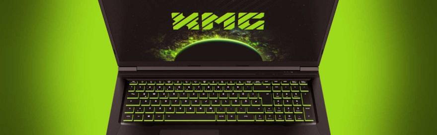 XMG CORE 15 laptop