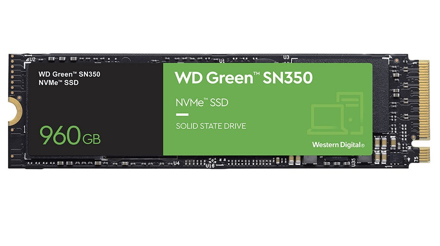 Western Digital WD Green SN350 M.2 NVMe SSDs